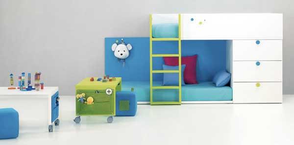 Яркая современная детская мебель