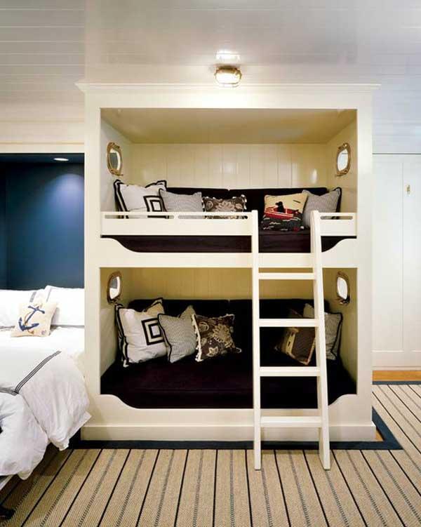 Детская 2-ярусная кровать в виде короба