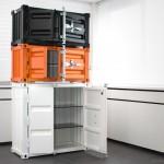 Мебель из металла, стеллажи шкафы из грузовых контейнеров