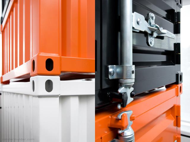 Модульная мебель из контейнеров
