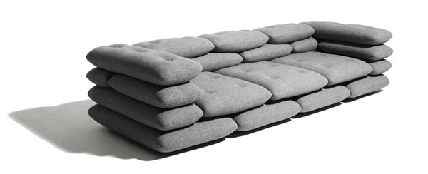 Оригинальная мягкая софа