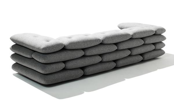 Мягкая софа от датских дизайнеров
