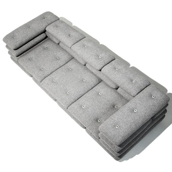Мягкая мебель для гостиной; софа из мягких подушек