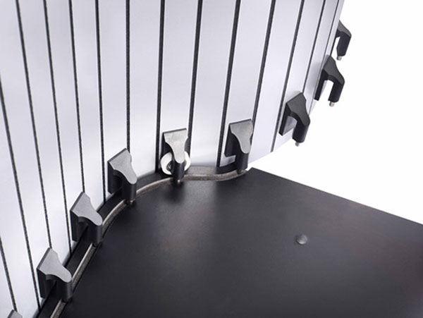 Устройство раздвижной двери сложного профиля