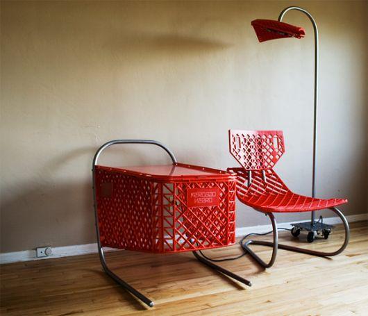 Использование переделанных пластмассовых вещей в дизайне современного интерьера