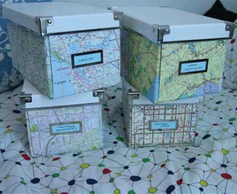 Ящики для хранения всякой мелочи, переделка своими руками из стандартных Икеевских