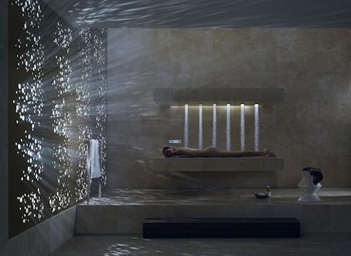 Пример организации ванной комнаты