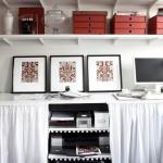 Спрятать оргтехнику -- организация домашнего офиса