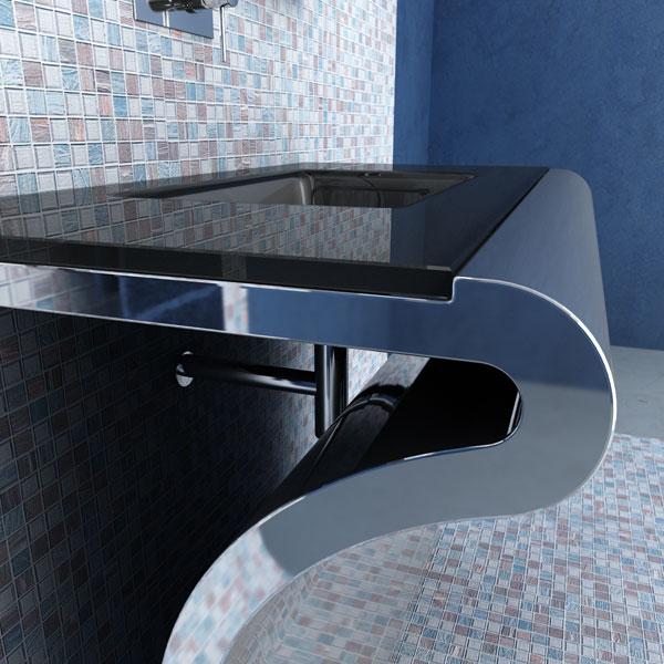 Изящная итальянская мебель для ванной