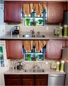 Гибкая мягкая плитка для кухни