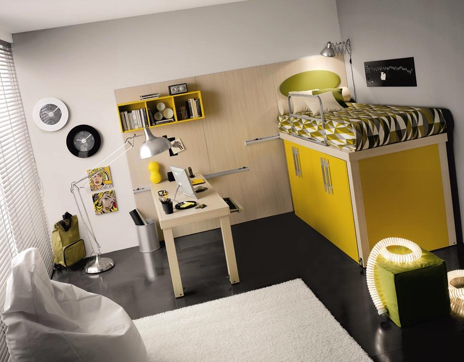 Кровать чердак -- спальное место над шкафом для хранения
