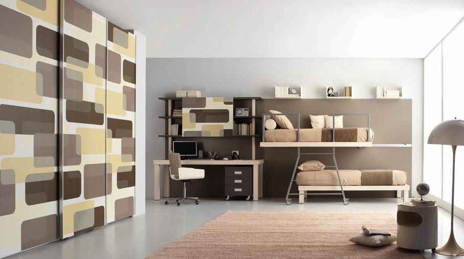 Современные двухъярусные кровати