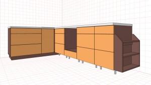 Этап расчетов и проектировки; кухня своими руками