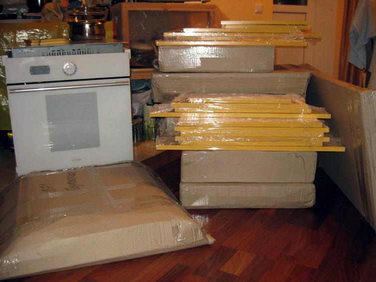 Закупка необходимых материалов для самодельной кухни