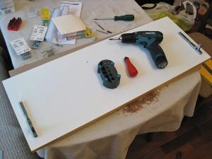 Подготовка фасадов для самодельной кухни