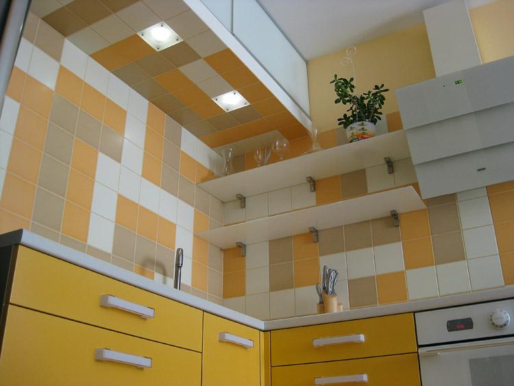 Самодельная кухня высокого качества по собственному проекту