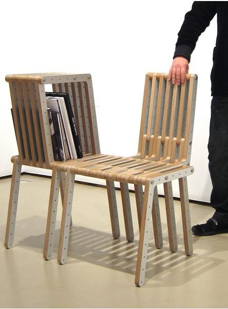 Разборная мебель из отдельных простых модулей