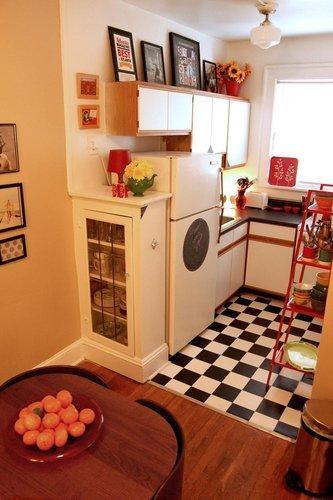Миниатюрная кухня современный дизайн