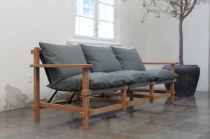 Японский диван в современном интерьере
