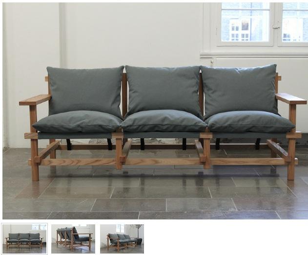 Современный диван в японском стиле
