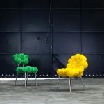 Яркие современные стулья