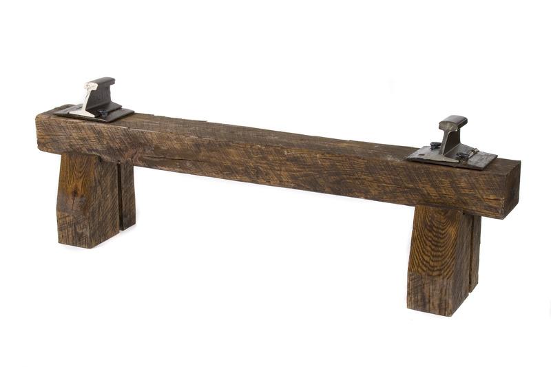 Скамейка, из старинной древесины