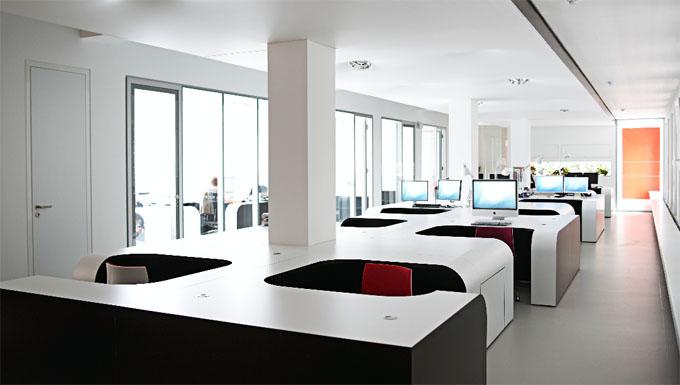 Пример организации офисного пространства