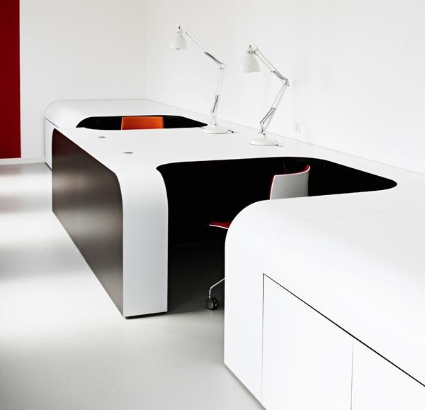 Современная] офисная мебель; рабочие столы компьютерные