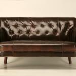 Классика кожаной мебели