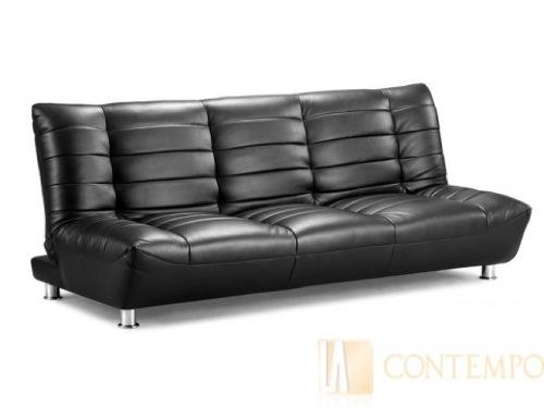 Современный широкий кожаный диван