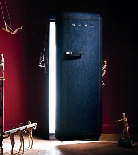 Холодильник оригинального дизайна