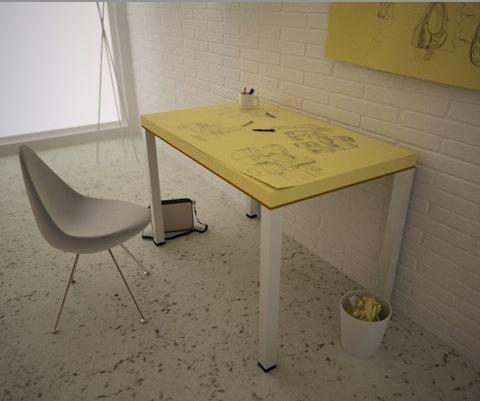 Рабочий стол для творческих людей