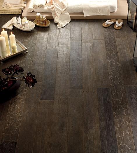Плитка имитируящая деревянный пол