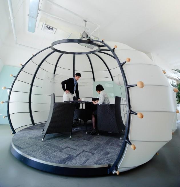 Автономные офисные перегородки