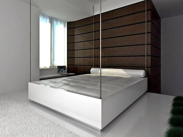 Подъемная кровать в опущенном виде