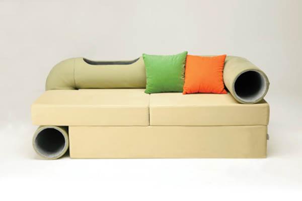 Оригинальная мебель для тех, у кого дома кот или кошка