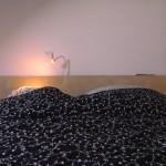 Самодельное изголовье для кровати