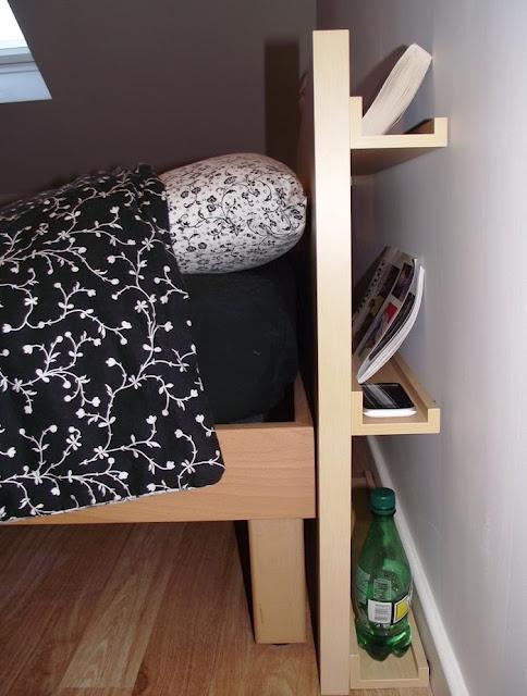 Изголовье для кровати из компонентов