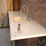 Кухонная мебель из бетона