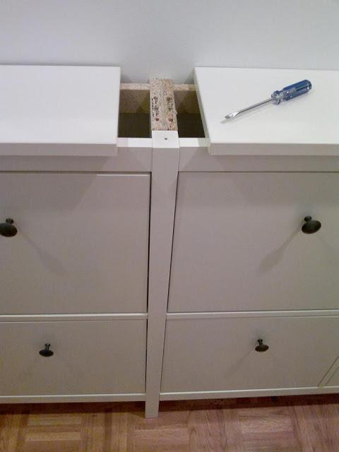 Процесс доработки мебели