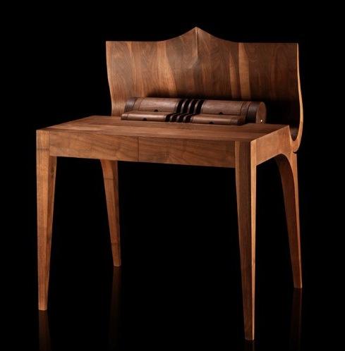 Стол бюро секретер оригинальной формы