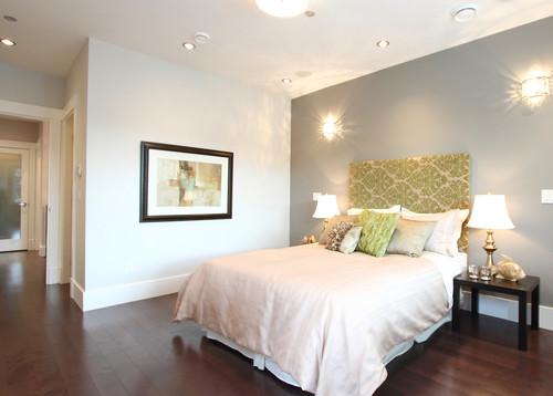 Цветовые акценты при покраске спальни