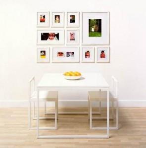 Фото рамки на стене