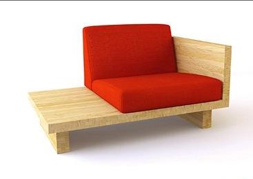 Кресло с прикроватным столиком