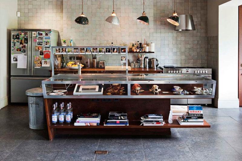 Пример открытой кухни