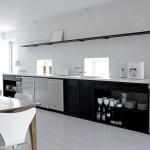 Минимализм в дизайне кухни