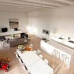 Кухня как часть помещения-студии