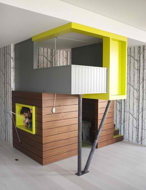 Пример оригинальной детской комнаты