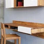 Настенный рабочий стол для дома
