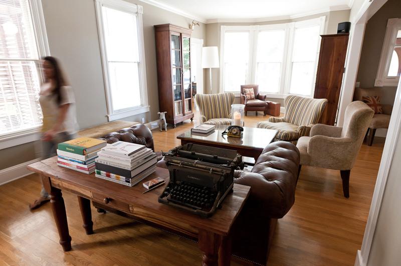 Офис в традиционно британском стиле